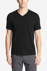 Men's Lookout Short-Sleeve V-Neck T-Shirt in Black