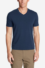 Men's Lookout Short-Sleeve V-Neck T-Shirt in Blue