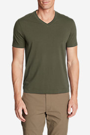Men's Lookout Short-Sleeve V-Neck T-Shirt in Green