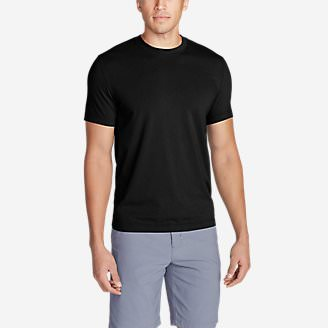 Men's Lookout Short-Sleeve T-Shirt in Black