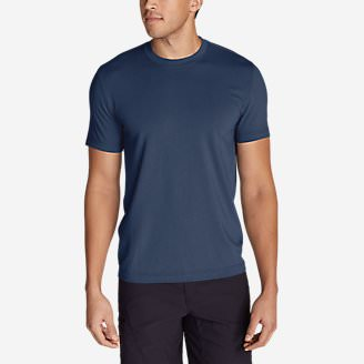 Men's Lookout Short-Sleeve T-Shirt in Blue