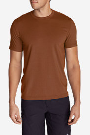 Men's Lookout Short-Sleeve T-Shirt in Red