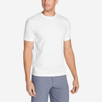Men's Lookout Short-Sleeve T-Shirt in White