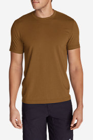 Men's Lookout Short-Sleeve T-Shirt in Brown
