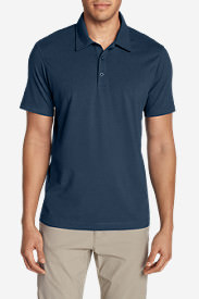 Men's Lookout Short-Sleeve Polo Shirt - Solid in Blue