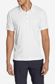 Men's Lookout Short-Sleeve Polo Shirt - Solid in White