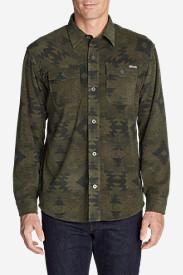 Men's Chutes Microfleece Shirt in Green