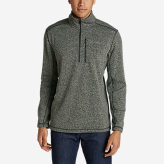 Men's Radiator Fleece 1/2-Zip in Gray