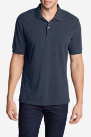 Men's Field Short-Sleeve Polo Shirt in Blue