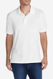 Men's Field Short-Sleeve Polo Shirt in White