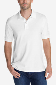 Men's Field Short-Sleeve Polo Shirt - Slim Fit in White