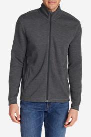 Men's Kachess Full-Zip Mock in Black