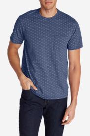 Men's Pilchuck Short-Sleeve T-Shirt in Blue
