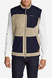 Men's Rangefinder Fleece Vest in Beige
