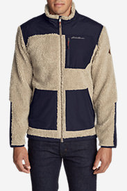 Men's Rangefinder Fleece Full-Zip Jacket in Beige