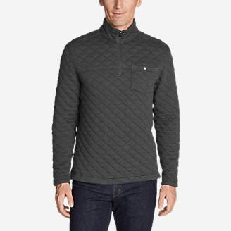 Men's Fortify Quilted 1/4-Zip Pullover in Gray