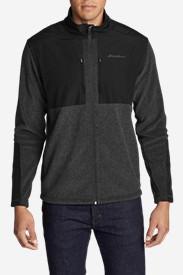 Men's Forest Ridge Fleece Full-Zip Jacket in Gray