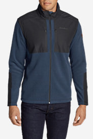 Men's Forest Ridge Fleece Full-Zip Jacket in Blue