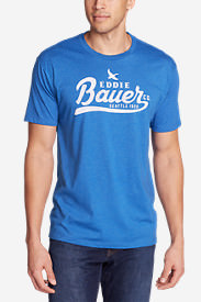 Men's Graphic T-Shirt - Classic in Blue