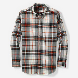 Men's Eddie's Favorite Flannel Relaxed Fit Shirt - Plaid in Beige