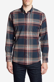 Men's Eddie's Favorite Flannel Relaxed Fit Shirt - Plaid in Blue