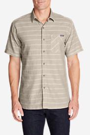 Men's Larrabee II Short-Sleeve Shirt - Solid in Beige