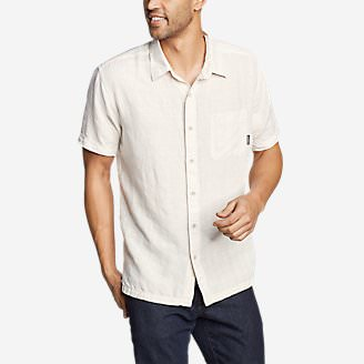 Men's Larrabee Short-Sleeve Shirt - Print in Gray