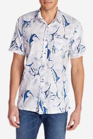 Men's Larrabee Short-Sleeve Shirt - Print in Blue