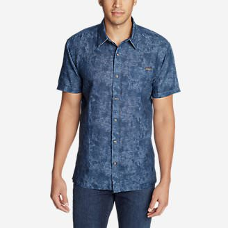 Men's Larrabee Short-Sleeve Shirt - Print in Blue