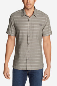 Men's Larrabee Short-Sleeve Shirt - Print in Beige
