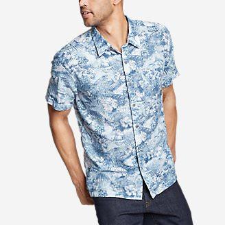Men's Larrabee Short-Sleeve Shirt - Print in Green