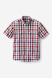Men's Bainbridge 2.0 Short-Sleeve Seersucker Shirt in Red