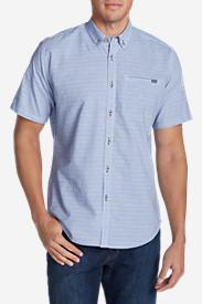 Men's Bainbridge 2.0 Short-Sleeve Seersucker Shirt in Blue