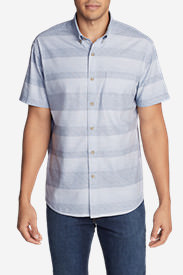 Men's Grifton Short-Sleeve Shirt - Print in Blue