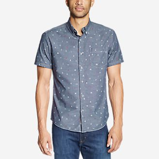 Men's Grifton Short-Sleeve Shirt - Print in Blue