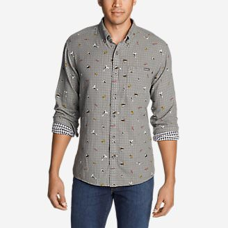 Men's Treeline 2.0 Long-Sleeve Shirt in Gray