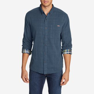 Men's Treeline 2.0 Long-Sleeve Shirt in Blue