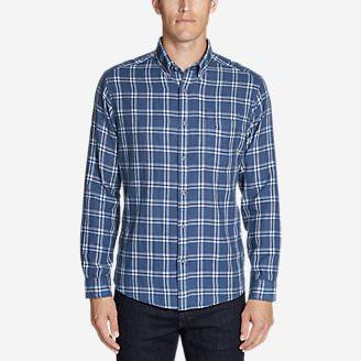 Men's Treeline 2.0 Long-Sleeve Shirt in Blue