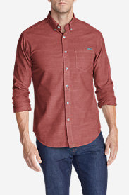 Men's Grifton Long-Sleeve Shirt - Solid in Brown