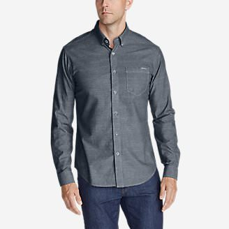 Men's Grifton Long-Sleeve Shirt - Solid in Blue