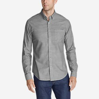 Men's Grifton Long-Sleeve Shirt - Solid in Gray