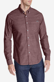 Men's Grifton Long-Sleeve Shirt - Solid in Red