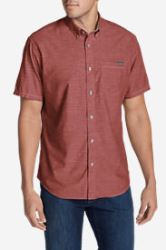 Men's Grifton Short-Sleeve Shirt - Solid in Brown