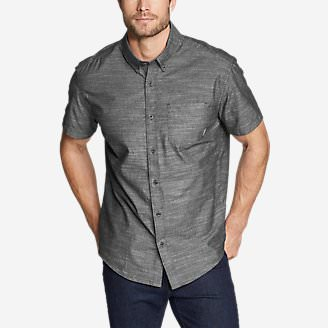 Men's Grifton Short-Sleeve Shirt - Solid in Black