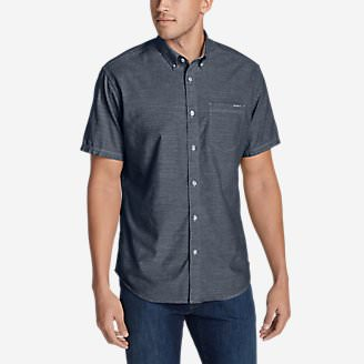 Men's Grifton Short-Sleeve Shirt - Solid in Blue