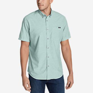 Men's Grifton Short-Sleeve Shirt - Solid in Green