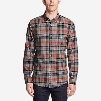 Men's Wild River Lightweight Flannel Shirt in Gray