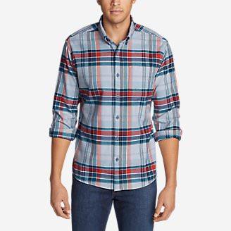 Men's Wild River Lightweight Flannel Shirt in Blue