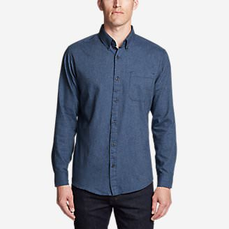 Men's Wild River Lightweight Flannel Shirt in Blue