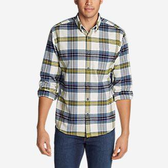 Men's Wild River Lightweight Flannel Shirt in White